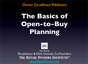 Basics of Open-to-Buy Planning