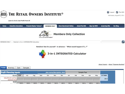 Easy & fast for retailers! 3-in-1 INTEGRATED Calculator