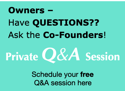 Free Q&A session with Retail Strategists