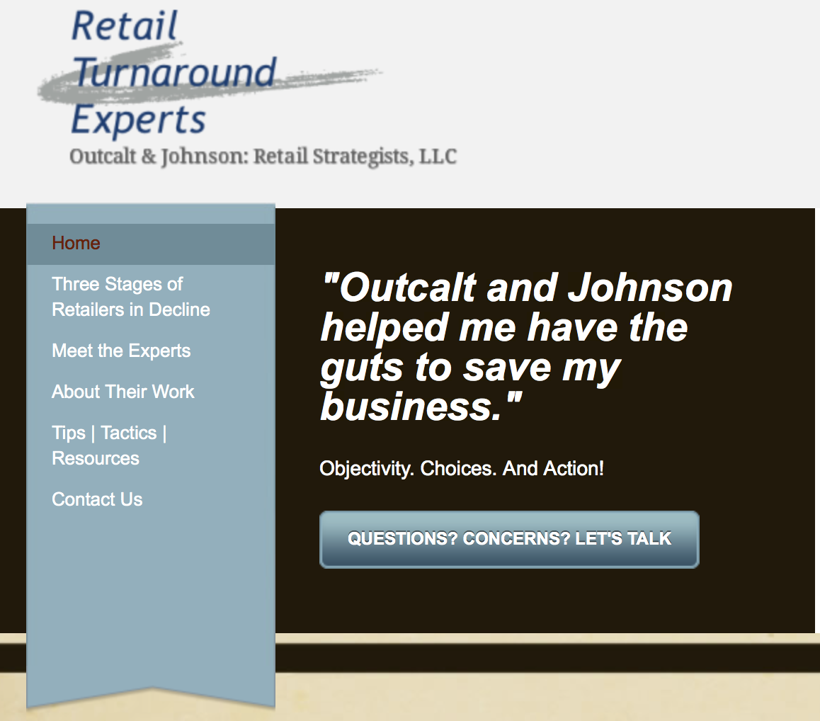 Talk to the Retail Turnaround Experts - Free