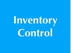 Inventory control tools and know-how