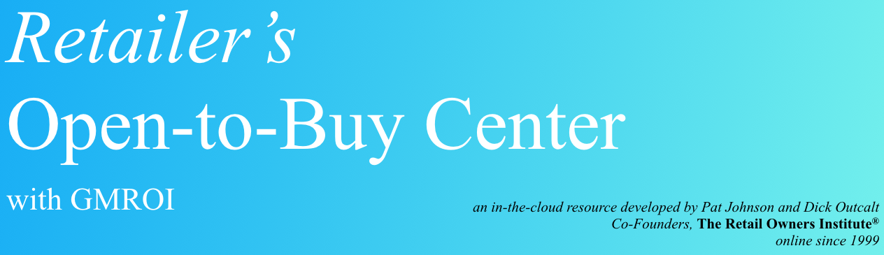 Go to Retailer's OPEN-TO-BUY Center