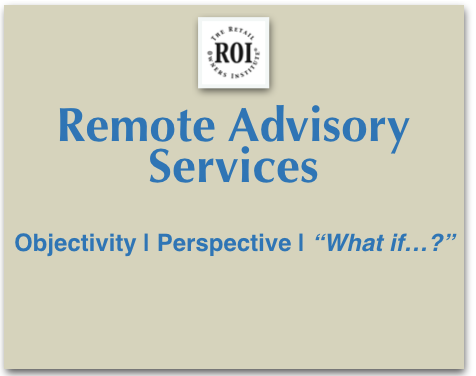 Remote Advisory Serves ices for Retailers