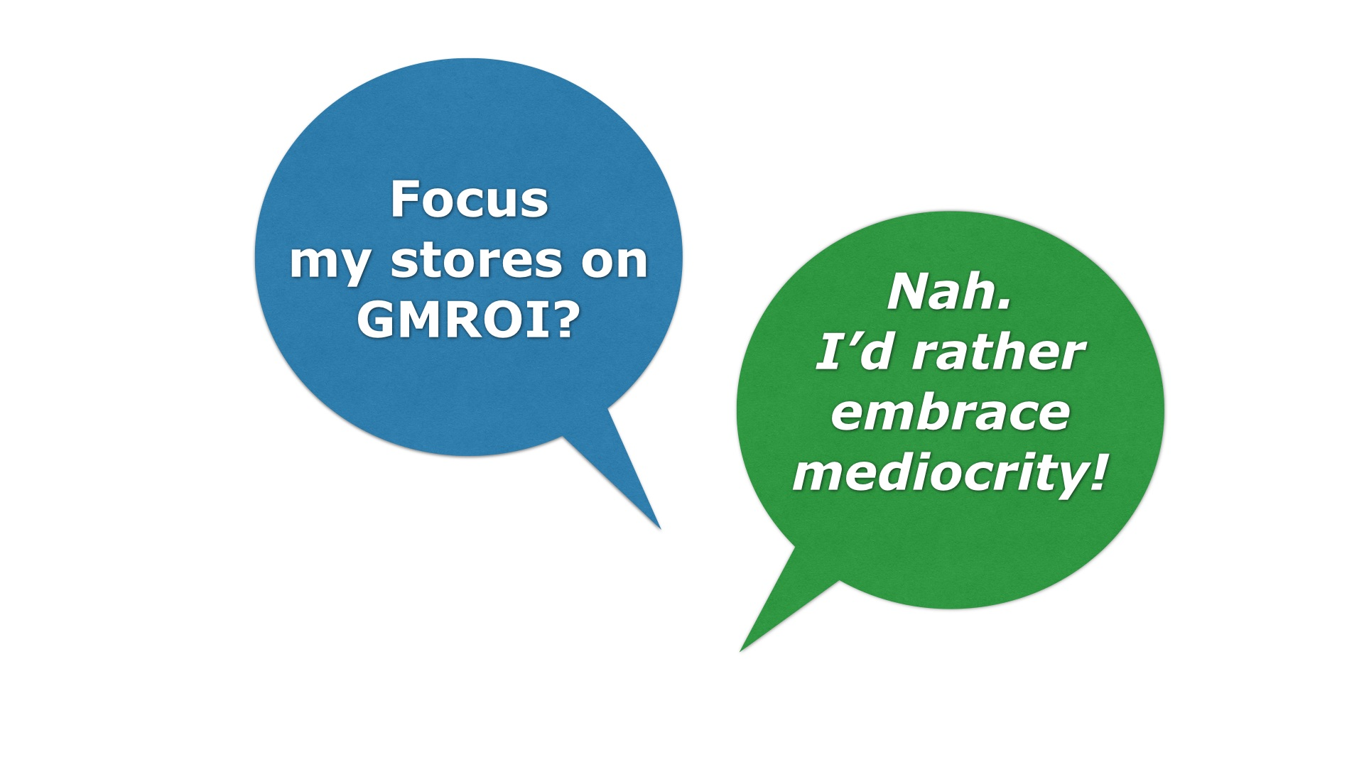 gmroi calculation Learn about turn/earn & gross margin return on inventory (gmroi) with excel formulas to use yourself gmroi defined.